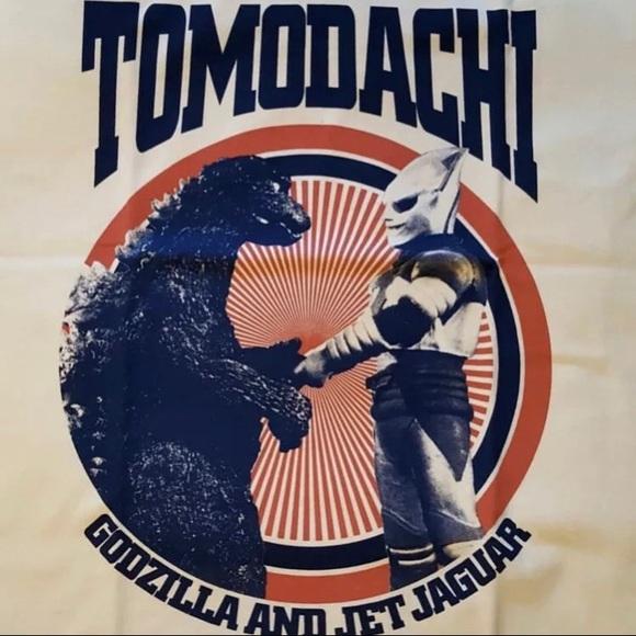 Godzilla Jet Jaguar Tomodachi Tshirt NWT large